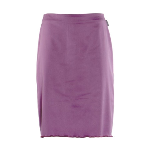 Purple Fabric Skirt