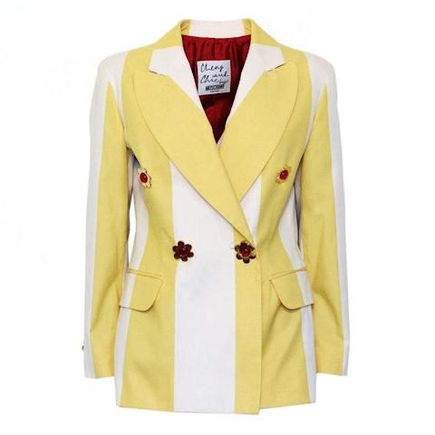 Cotton Stripped Pattern Jacket