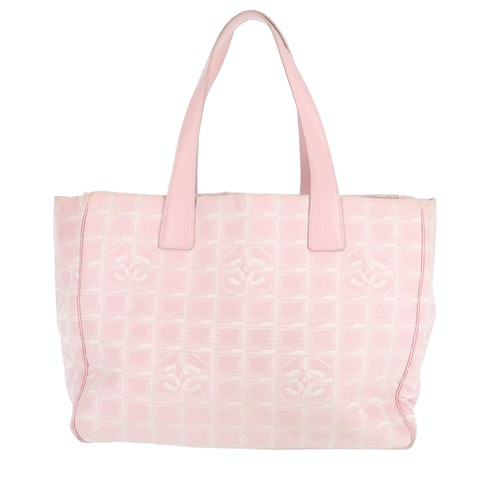 Pink New Travel Line Tote