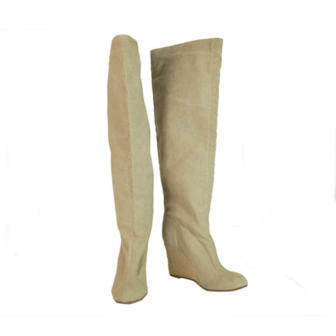 Christian Louboutin Beige Jessica  Boots