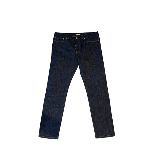 Navy Wash Denim Men's Jeans