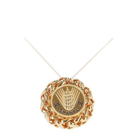 Gold-Toned TVB Repurposed Necklace