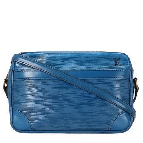 Louis Vuitton Blue Epi Trocadéro 23