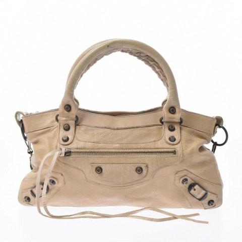 Balenciaga First Leather Hand Bag