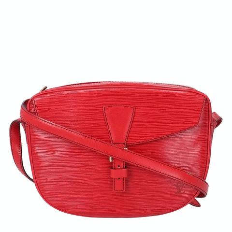 Louis Vuitton Red Epi Jeune Fille MM