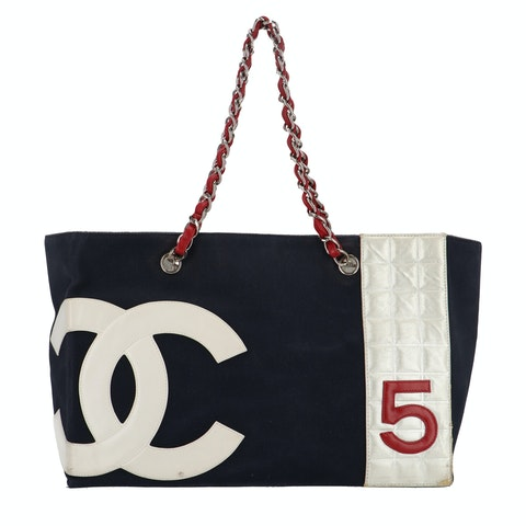 Blue Canvas No. 5 Shopper