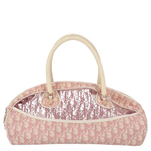Pink Vinyl Handbag