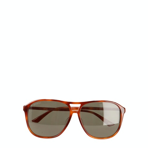 Brown Tortoise Acetate Sunglasses