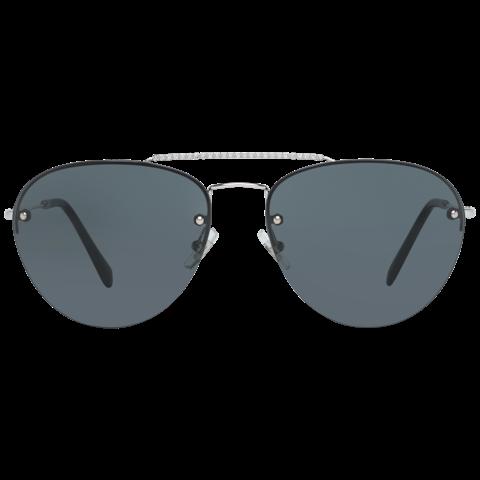 Miu Miu Mint Women Silver Sunglasses MU54US 1BC1A159 59-15-138 mm