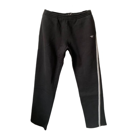 Black Cotton Men's Joggers