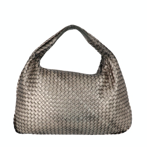 Bottega Veneta Metallic Large Veneta