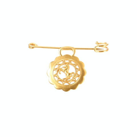Gold-Toned Brooch