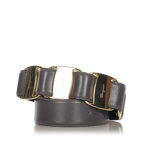 Vara Bow Leather Belt