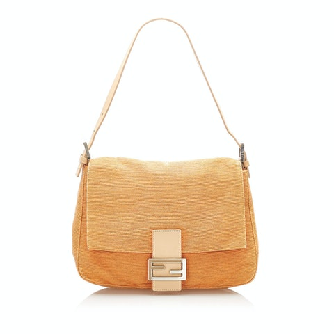 Mamma Forever Canvas Shoulder Bag