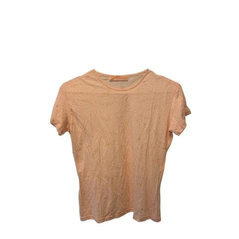 Pink Logo Cotton T-Shirt