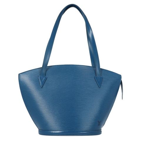 Louis Vuitton Blue Epi Saint Jacques