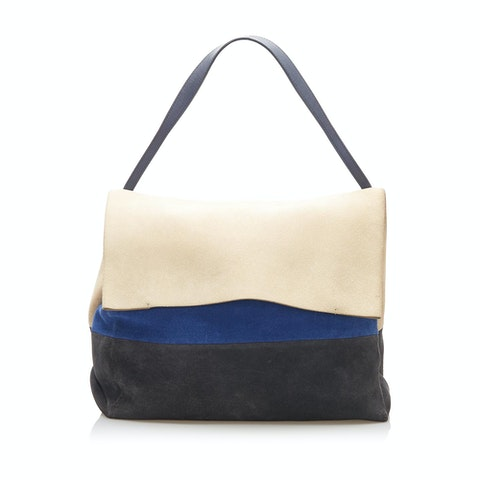 All Soft Suede Shoulder Bag