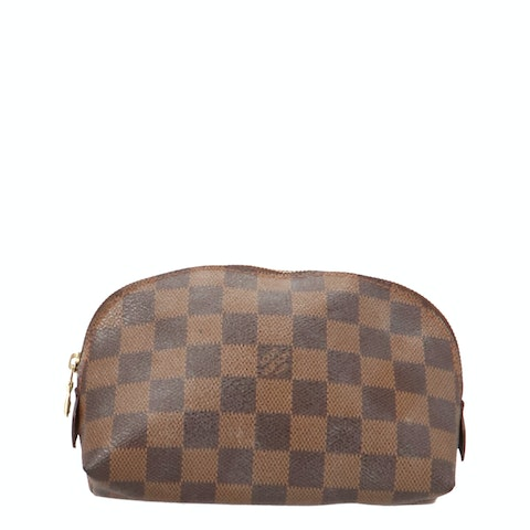 Damier Ebene Cosmetic Pouch