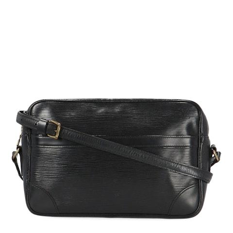 Louis Vuitton Black Epi Trocadéro 27