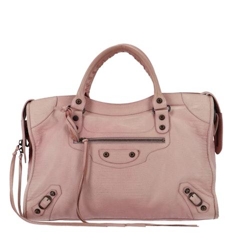Balenciaga Pink Lizard '10-Year Anniversary' City
