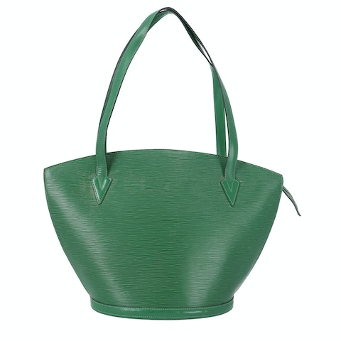 Louis Vuitton Green Epi Saint Jacques