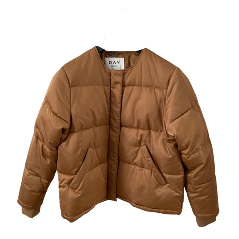 Brown Fabric Jacket