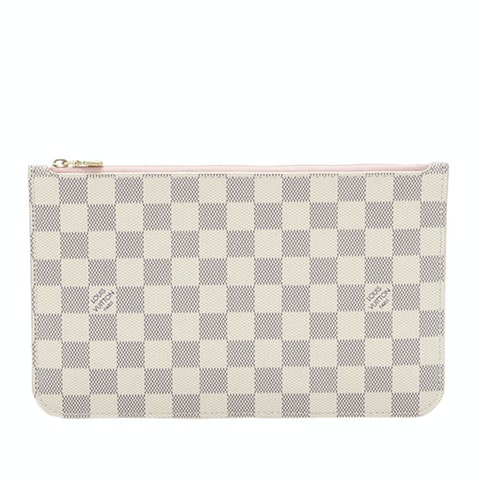 Damier Azur Neverfull MM Pouch