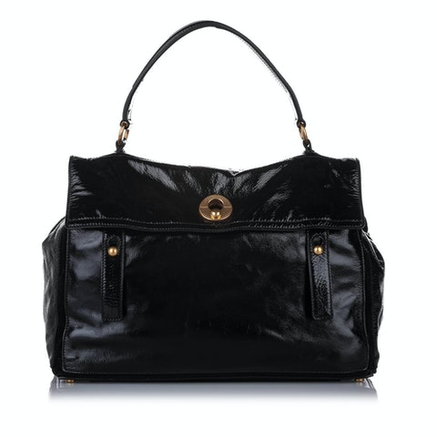 Muse Two Patent Leather Handbag