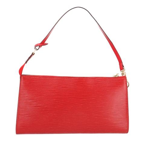 Red Epi Pochette Accessoires