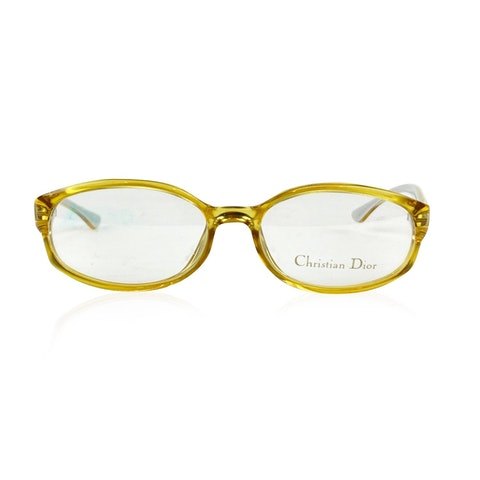 Vintage Yellow Eyeglasses