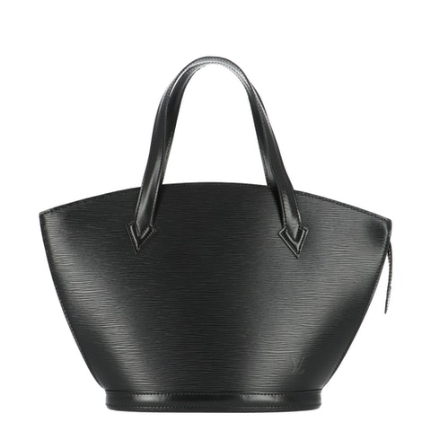 Louis Vuitton Black Epi Saint Jacques