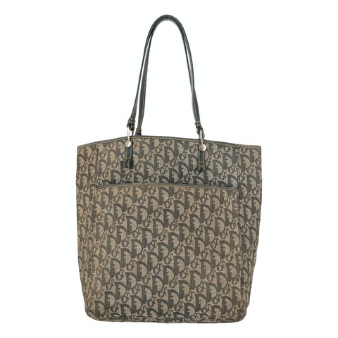 Dior Blue Jacquard Canvas Tote