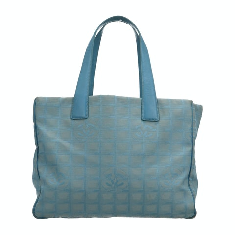 Blue New Travel Line Tote