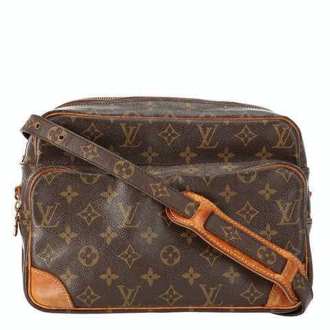 Monogram Canvas Nile MM